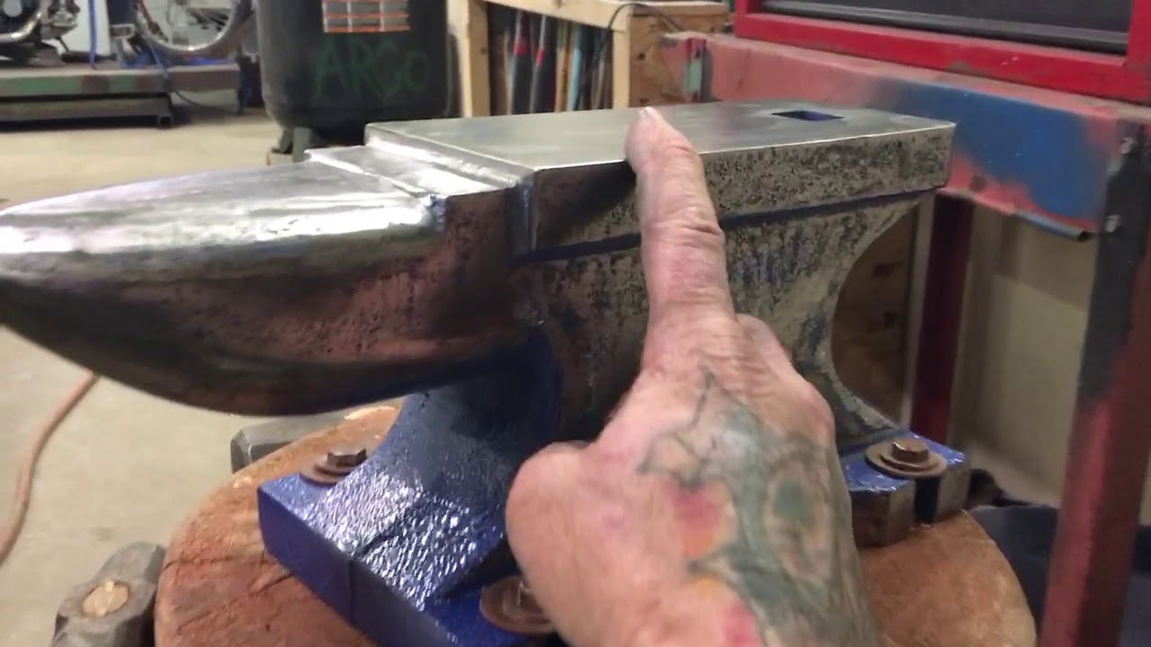 Harbor freight 55 pound anvil PART TWO