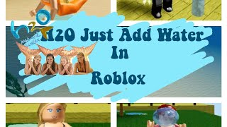 H2o Just Add Water || roblox game by seagoonia || iiItsRickyy