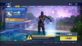 FORTNITE BLACK KNIGHT ACCOUNT FOR SALE/TRADE!! (season 2 battle pass skins) (read desc plz)