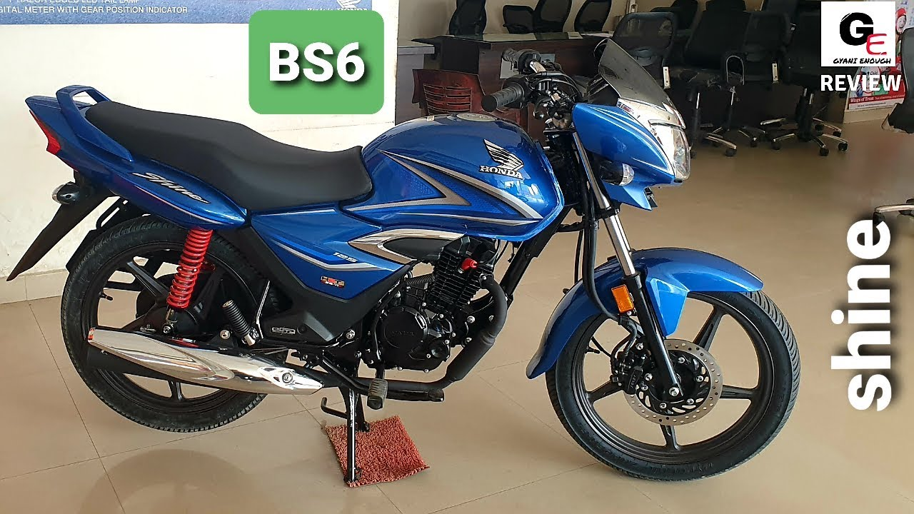 2020 Honda Shine Bs6 Detailed Review Features Changes Specs Price Youtube