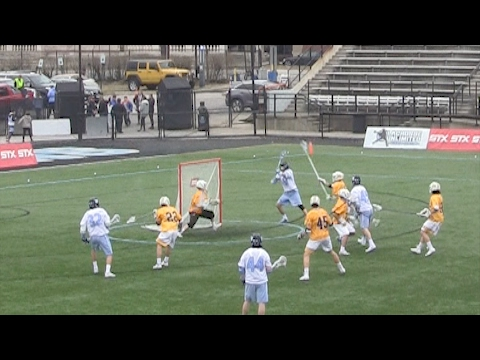 2017 UMBC vs Johns Hopkins Lacrosse Highlights