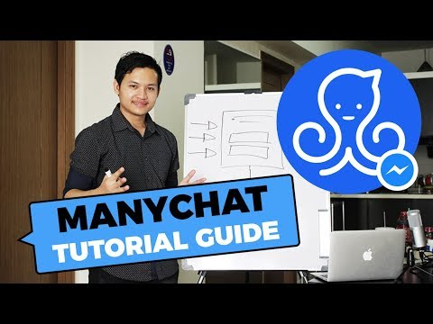MANY CHAT - Facebook Messenger Automation (FREE Training 2019)