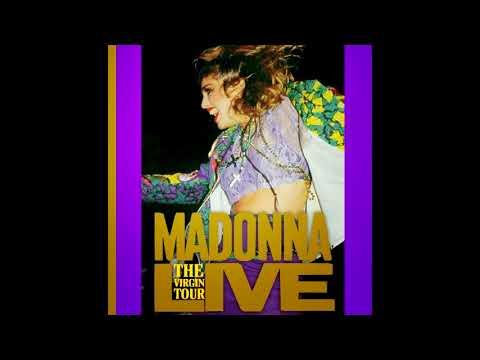 Madonna  The Virgin Tour  in Detroit, 1985 Disco CompletoFull Album + Missing Tracks