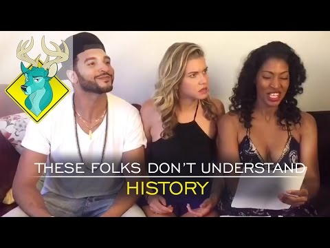 TL;DR - These Folks Don't Understand History