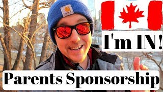 Application Submitted  to Sponsor my Parents to Canada!!!