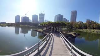 【6K 360 VR】浜離宮恩賜庭園 潮入の池