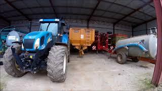 Je visite une exploitation agricole de 1000 hectares en haute marne(300 abonnées)
