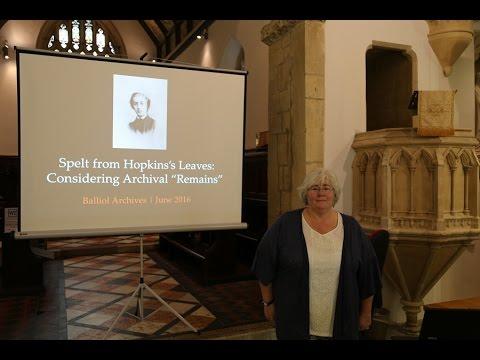 Lesley Higgins - Spelt from Hopkins Leaves