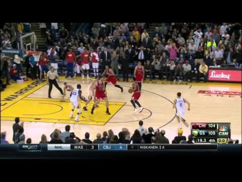 Stephen Curry turnover, Kirk Hinrich 3