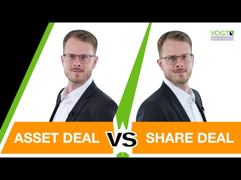 Share Deal oder Asset Deal bei der Unternehmensnachfolge... einfach erklärt!