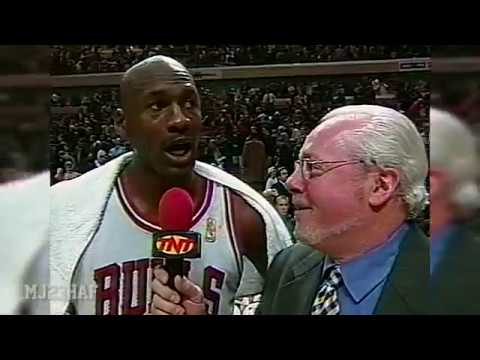Michael Jordan Post-Game Interview THE CON GAME (1997.01.21)
