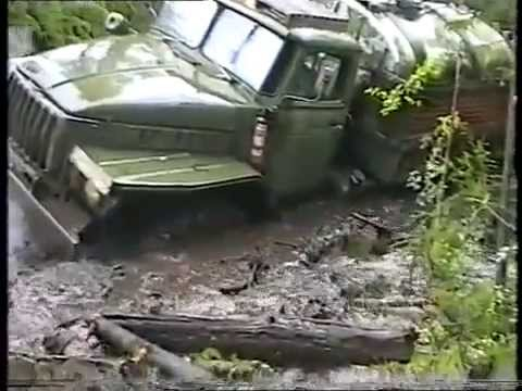 Severe Siberian road. Better the Urals, the helicopter
