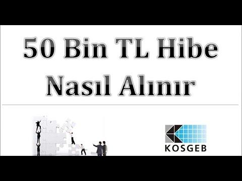 50 bin TL Hibe Şartları ve Almanın Yolu - KOSGEB Girişimcilik Desteği (Girişimcilik ve İş Kurma)