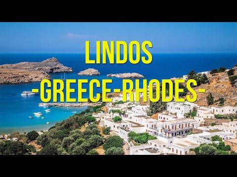 Greece. Rhodes. Lindos. 2016 (HD)