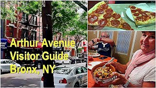 Arthur Avenue Visitors Guide - Bronx NY