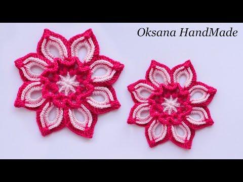 Схемы цветов для вязания цветов крючком