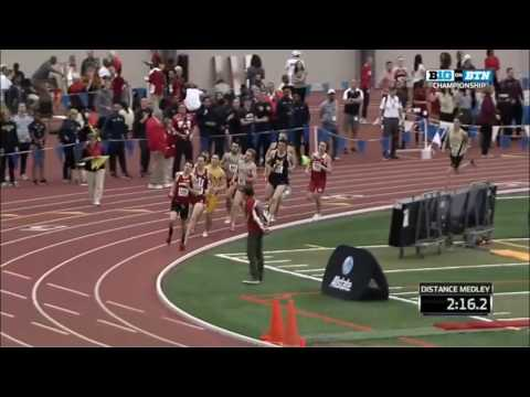 Indoor Big Ten Championships DMR 2017