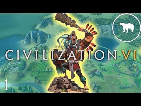 Let's Play Civilization VI: Is the Aztec DLC worth it? Ep 1