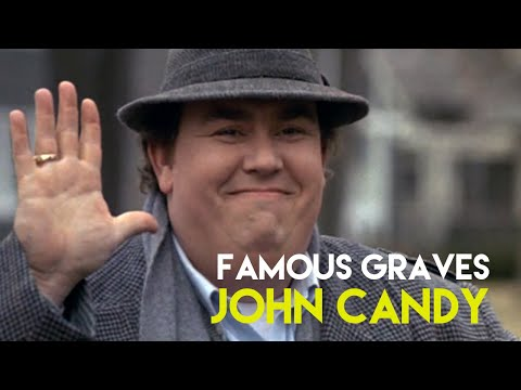 The Grave of John Candy | Tribute Video | 25th Anniversary of his Death | Sharon Tate Grave