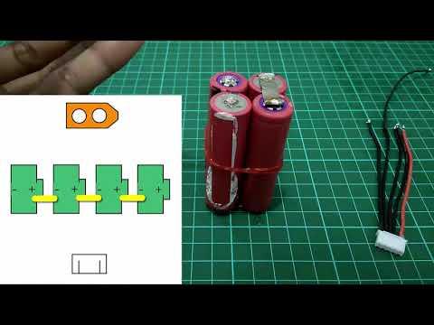 DIY Li-ion 4s Battery (18650)