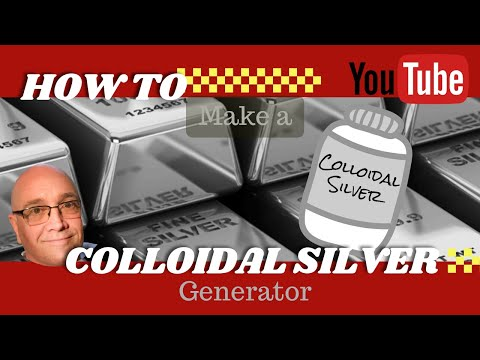 How to Make a Colloidal Silver Generator at Home