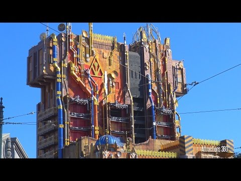 Star Wars Land & Guardians of the Galaxy Ride Construction Update 4.12.2017