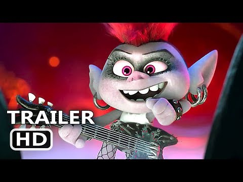 TROLLS 2 World Tour Official Trailer (2020) Animation Movie HD
