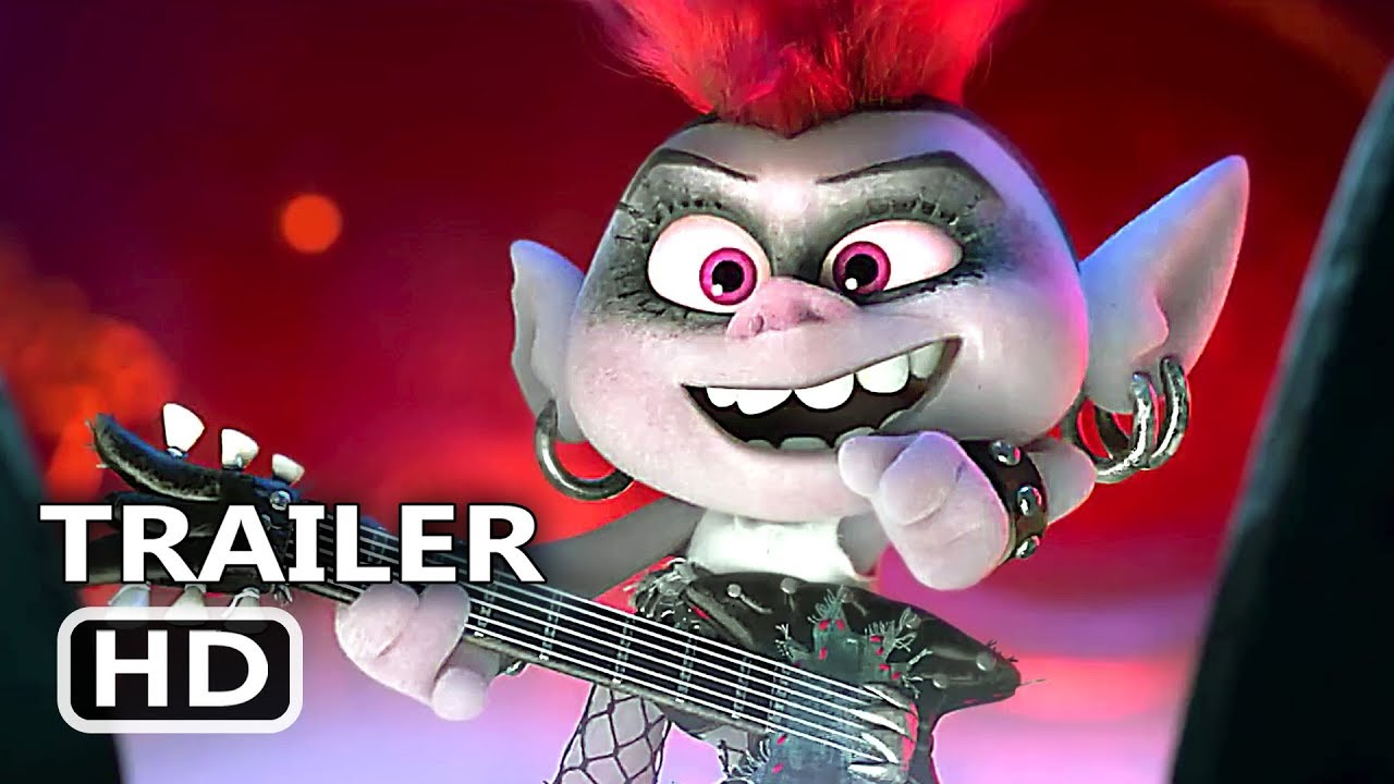 Trolls 2 World Tour Official Trailer 2020 Animation Movie Hd