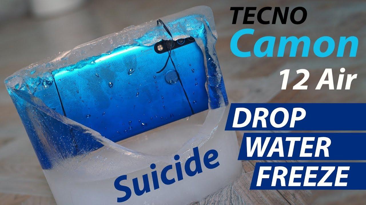 Download Camon 12 Air Durability Test in Urdu - Camon 12 Air Scratch / Drop / Water / Freeze Test
