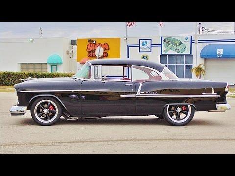 1955 Chevy Bel Air Frame Off Restoration V8 Hardtop Coupe Sold