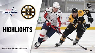 Capitals @ Bruins 4/11/21 | NHL Highlights
