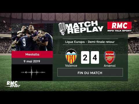 Ligue Europa : Le Goal Replay Des Demi-finales Retour Avec Les Commentaires De RMC En Live