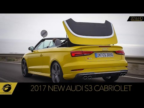 2017 NEW Audi S3 Cabriolet  Test Drive Exhaust Sound