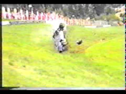 De Cesaris Crashes At Austria 1985