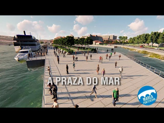 Marea propone suprimir el aparcamiento y transformar el muelle de As Corvaceiras