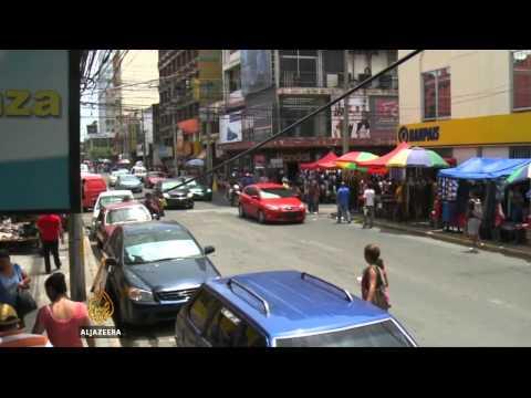 Hondurans emigrating in massive numbers