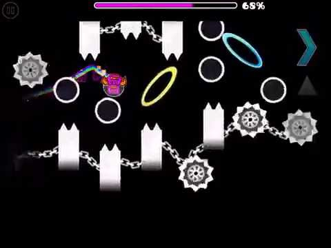 EXTREME GEOMETRY DASH DEMON LEVEL! - Cosmic Calamity, by the GD forum group! (auto ver.)