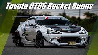 Toyota GT86 Rocket Bunny V2 Widebody And Forgestar F14 Wheels