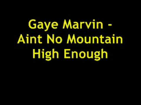 Marvin Gaye & Tammi Terrell – Ain't No Mountain High ...