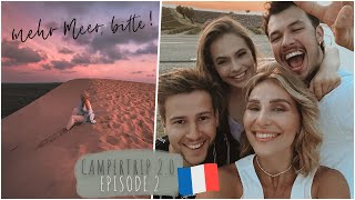 Camper Tour 2021 - Wir entdecken Étretat in Frankreich! | Episode #2 | Ana Johnson