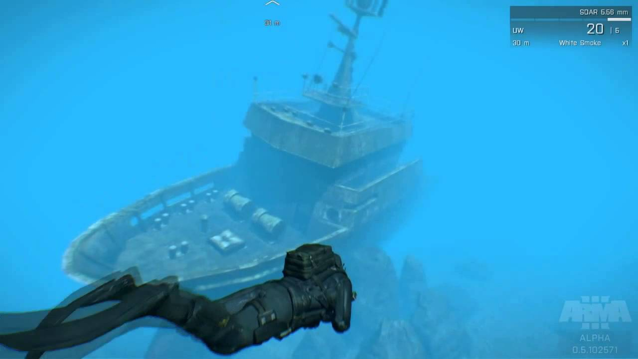 Arma 3 How To Find The Big Shipwreck Youtube