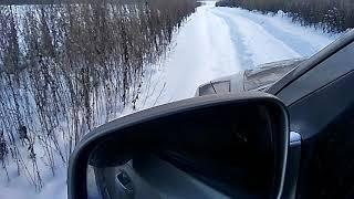 первый тест Part Time Sorento в снежных полях