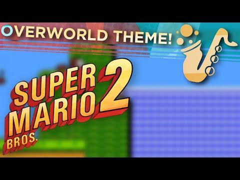 "Overworld Theme (From ""Super Mario Bros 2"") Alto, Tenor, and Bari Sax Game Covers"