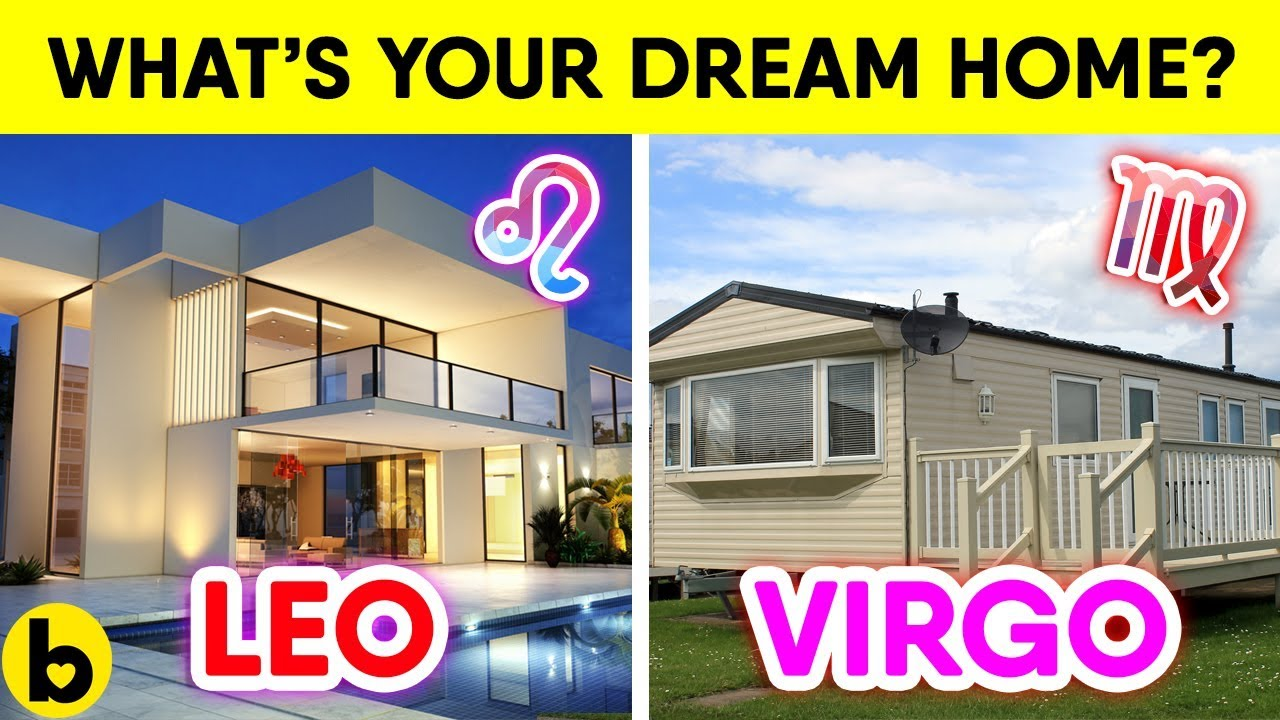 Your dream house based on your zodiac sign youtube for The sign