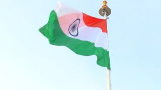 Indian Flag Day : Largest National flag hoisted In Chennai Airport - Red Pix24x7