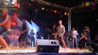 DJ ARAFAT , DEBORDO LEEKUNFA et la YOROGANG à  YAOUNDE CMR. 17 AOUT 2014.