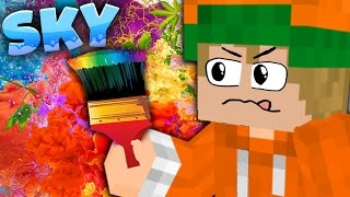 Wir malen | #43「Minecraft SKY」