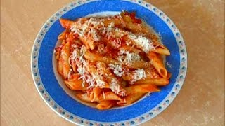 PENNE ARRABBIATA - a very spicy, authentic pasta recipe