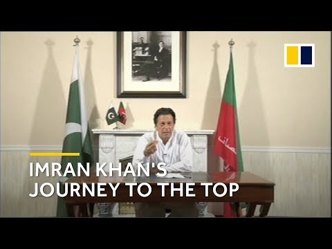 Imran Khan's journey from cricket star to Pakistan's next PM