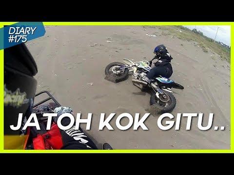 Geol-Geol Gak enak, Pertama Kali Pake ATV, Ada Yang Jatuh nih | Viar Razor 150